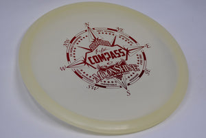 Buy White Latitude 64 Moonshine Compass Midrange Disc Golf Disc (Frisbee Golf Disc) at Skybreed Discs Online Store