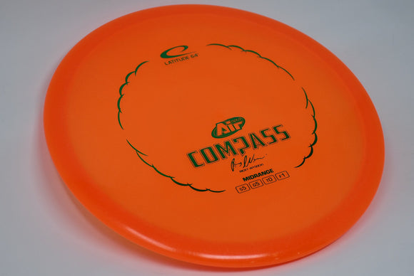 Buy Orange Latitude 64 Opto Air Compass Midrange Disc Golf Disc (Frisbee Golf Disc) at Skybreed Discs Online Store