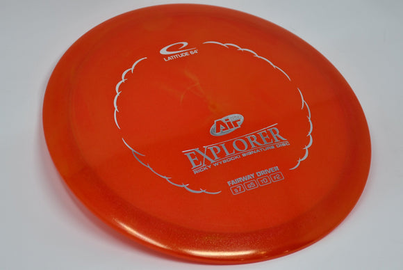 Buy Red Latitude 64 Opto Air Explorer Fairway Driver Disc Golf Disc (Frisbee Golf Disc) at Skybreed Discs Online Store