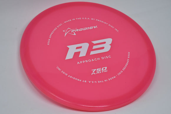 Buy Pink Prodigy 750 A3 Putt and Approach Disc Golf Disc (Frisbee Golf Disc) at Skybreed Discs Online Store