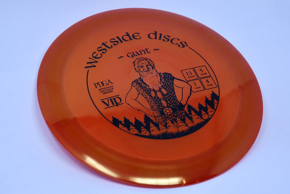 Buy Red Westside VIP Giant Distance Driver Disc Golf Disc (Frisbee Golf Disc) at Skybreed Discs Online Store
