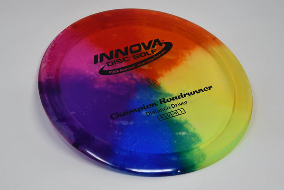 Buy Unique tye-dye Innova Champion I-Dye Roadrunner Fairway Driver Disc Golf Disc (Frisbee Golf Disc) at Skybreed Discs Online Store