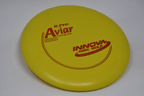 Buy Yellow Innova R-Pro Aviar Putt and Approach Disc Golf Disc (Frisbee Golf Disc) at Skybreed Discs Online Store