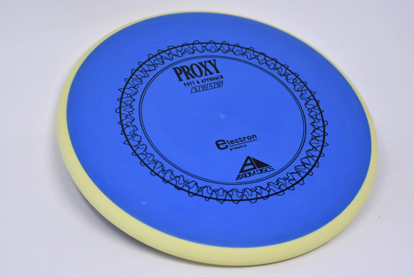 Buy Blue and Yellow Axiom Electron Proxy Putt and Approach Disc Golf Disc (Frisbee Golf Disc) at Skybreed Discs Online Store
