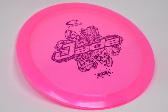 Buy Pink Latitude Opto Glimmer Jade Fairway Driver Disc Golf Disc (Frisbee Golf Disc) at Skybreed Discs Online Store