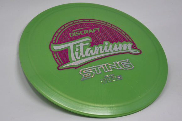 Buy Green Discraft Titanium Sting Fairway Driver Disc Golf Disc (Frisbee Golf Disc) at Skybreed Discs Online Store