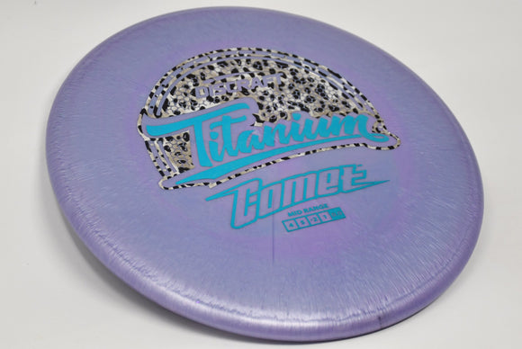 Buy Purple Discraft Titanium Comet Midrange Disc Golf Disc (Frisbee Golf Disc) at Skybreed Discs Online Store