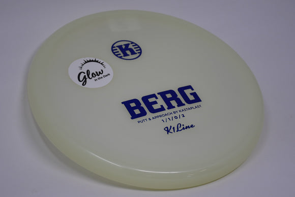 Buy White Kastaplast K1 Glow Berg Putt and Approach Disc Golf Disc (Frisbee Golf Disc) at Skybreed Discs Online Store