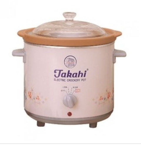 Takahi 3102 - Electric Slow Cooker 1.2litres
