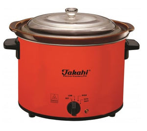 Takahi 3606 CR-WO - Electric Slow Cooker, 4.7litres