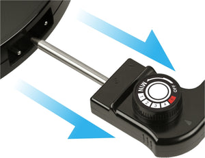 Cornell CCGEL39N Indoor Electric BBQ Reversible and Portable Grill