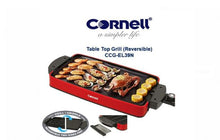 Load image into Gallery viewer, Cornell CCGEL39N Indoor Electric BBQ Reversible and Portable Grill