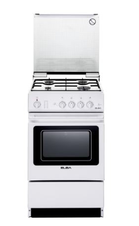 Elba EEC 566 WH - Freestanding Cooker with 4 Gas Burners