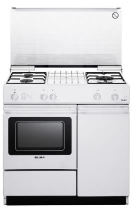 Elba EEC 866 WH - Freestanding Cooker with 3 Gas Burners