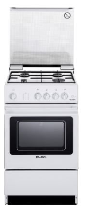 Elba EGC 536 WH - Freestanding Cooker with 4 Gas Burners