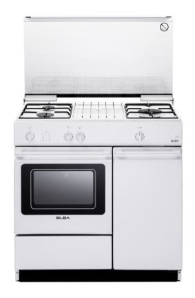 Elba EGC 836 WH - Freestanding Cooker with 3 Gas Burners