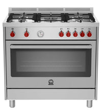 Load image into Gallery viewer, Bertazzoni La Germania RIS95C 61L BX - Free Standing Cooker 90cm