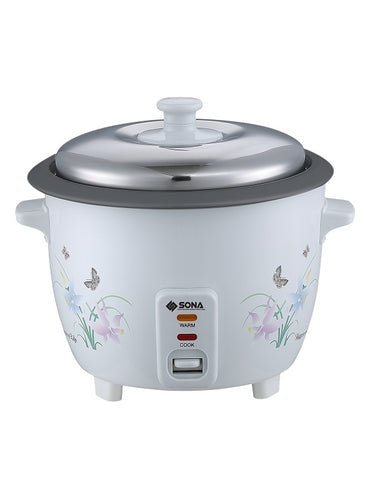 Sona SRC2122R - Rice Cooker 0.6litres