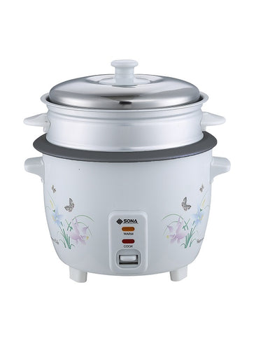 Sona SRC2130R - Rice Cooker 1.8litres
