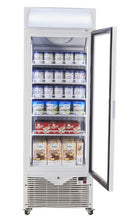 Load image into Gallery viewer, Kadeka KSF450W - Upright Freezer Showcase 430litres