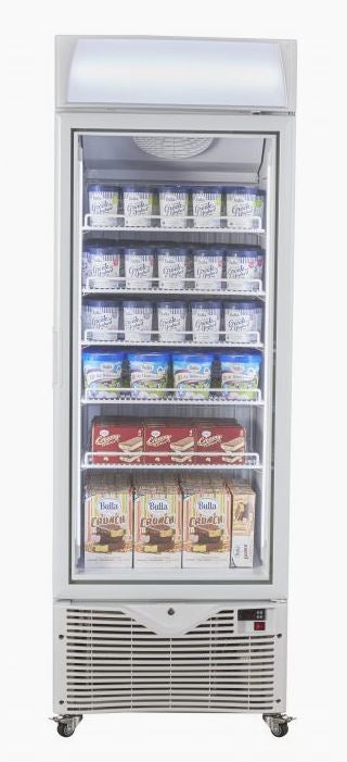 Kadeka KSF450W - Upright Freezer Showcase 430litres