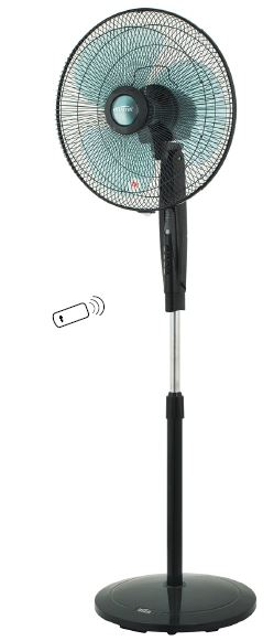 Mistral MSF1628WR - Remote Controlled Living Fan 40cm/16inch