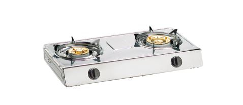 Tecno TTCF8SV - Double Burner Table Cooker
