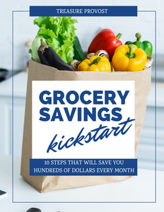 Grocery Savings Kickstart Workbook