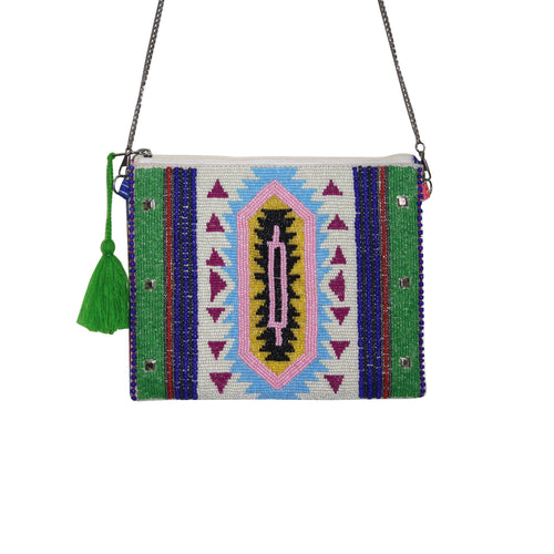 beaded summer bag