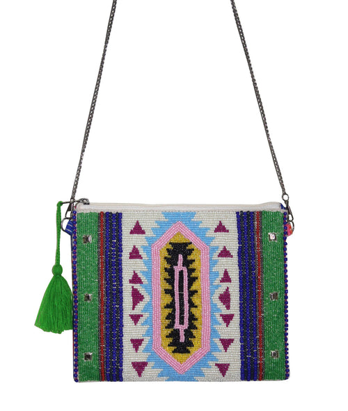 BEADED SUMMER BAG - NOMADIC