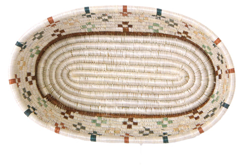 Shades of Sand Oval Basket
