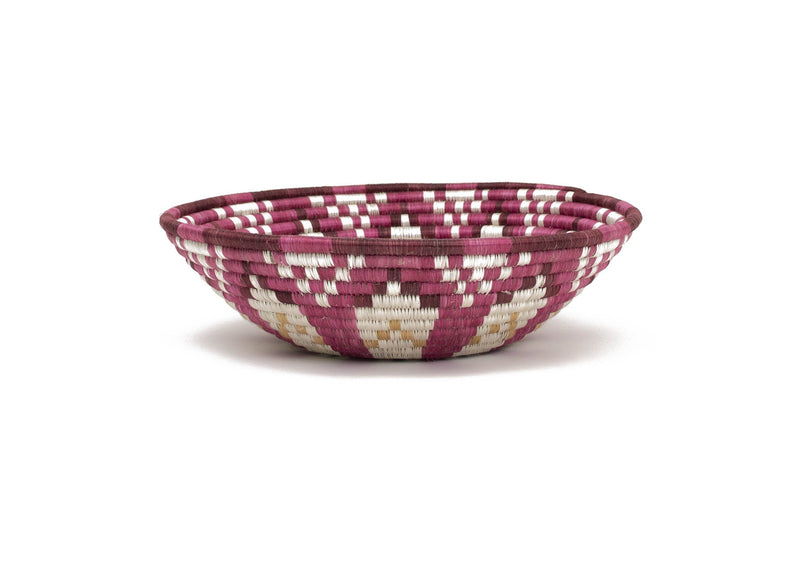 "14"" Extra Large Mauve Fig Bowl - KAZI"