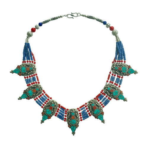 TIBETAN NECKLACE - NOMADIC