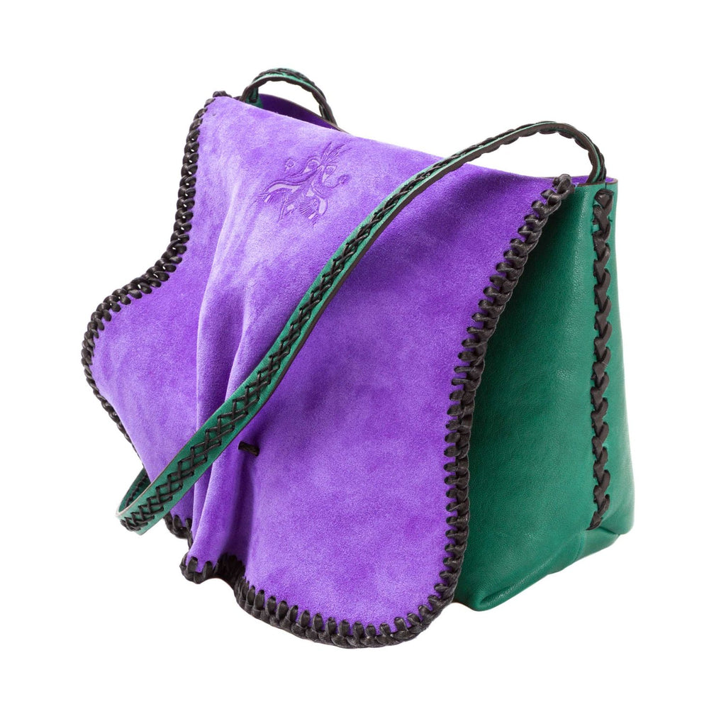 Hydra Crossbody Emerald Green