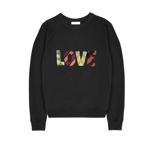 LOVE SWEATSHIRT - NOMADIC