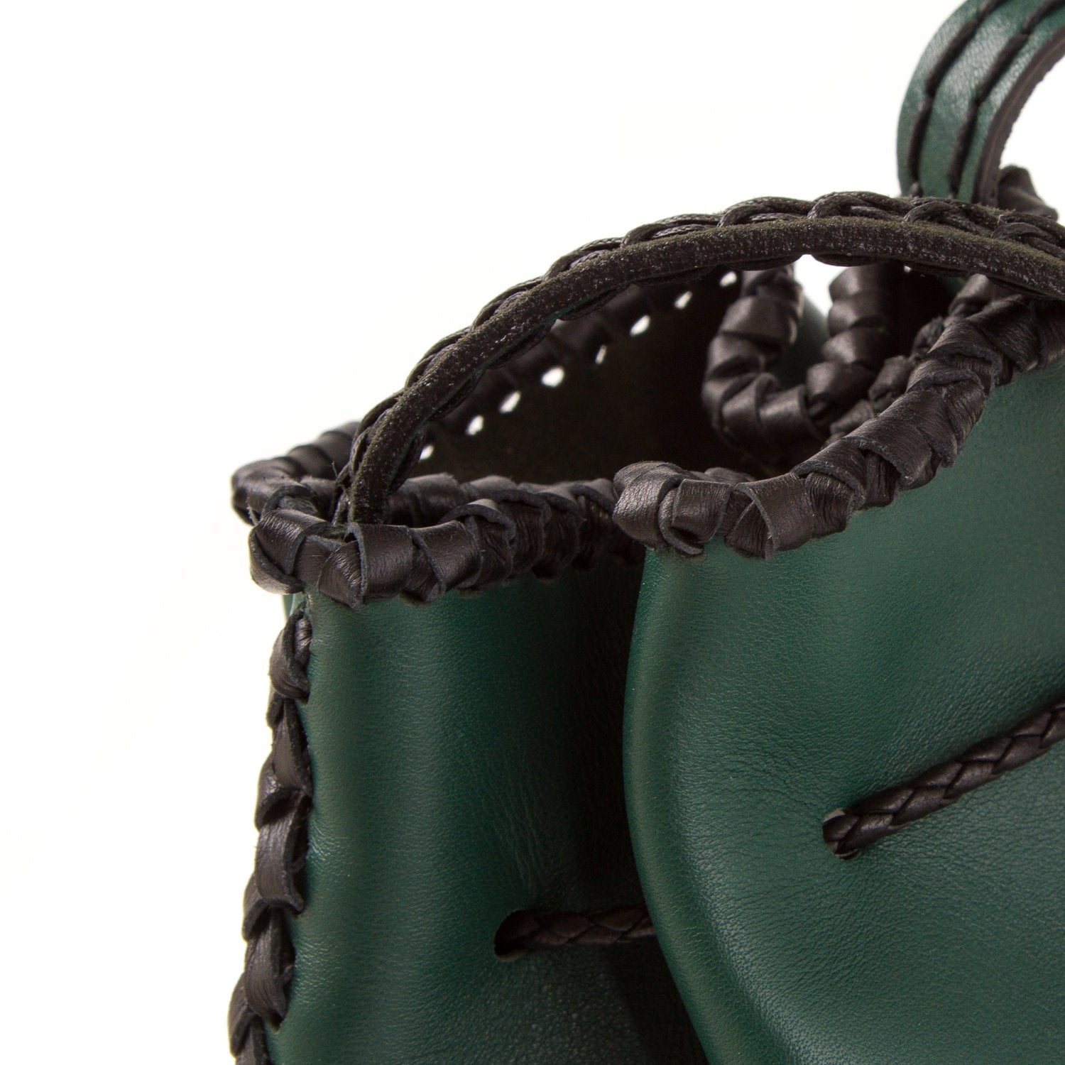 Nirmala Lux Leather  Forest Green