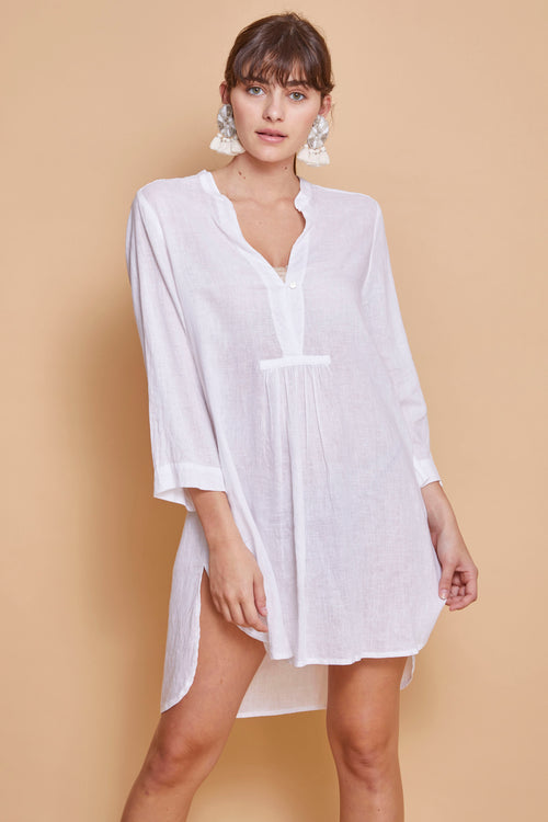 POPPY SHIRT DRESS - NOMADIC