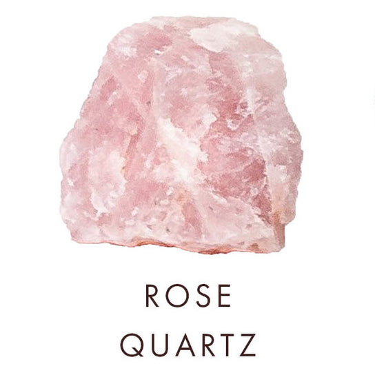 rose quartz crystal, image