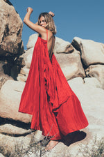 Syros Red Dress A Perfect Nomad, Image