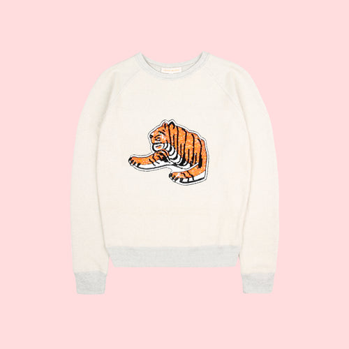 KIDS TIGER SWEATSHIRT - NOMADIC