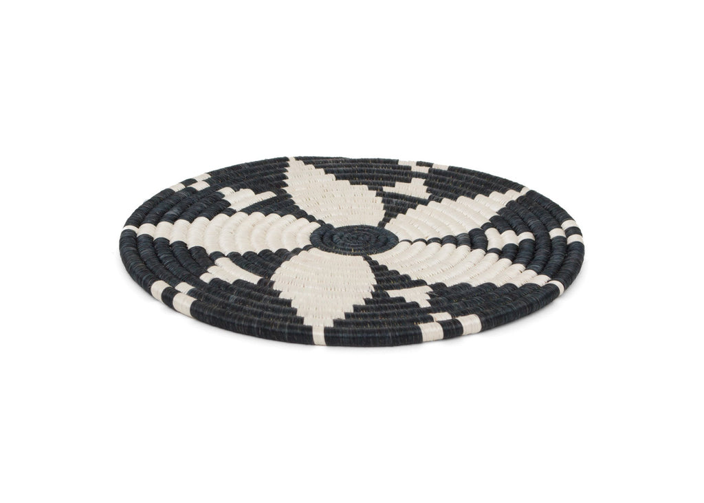 Black + White Hope Trivet