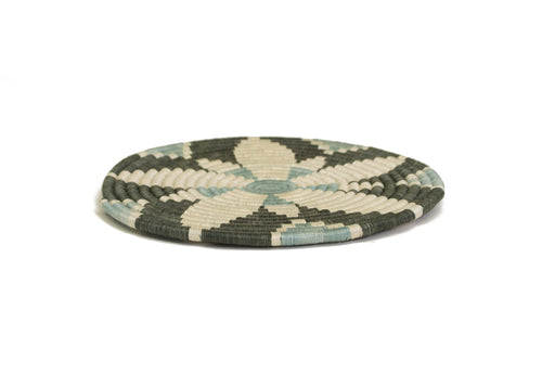 Gray Green Hope Trivet
