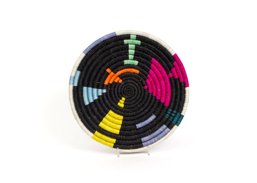 Small Black + Neon Mtoto Trivet
