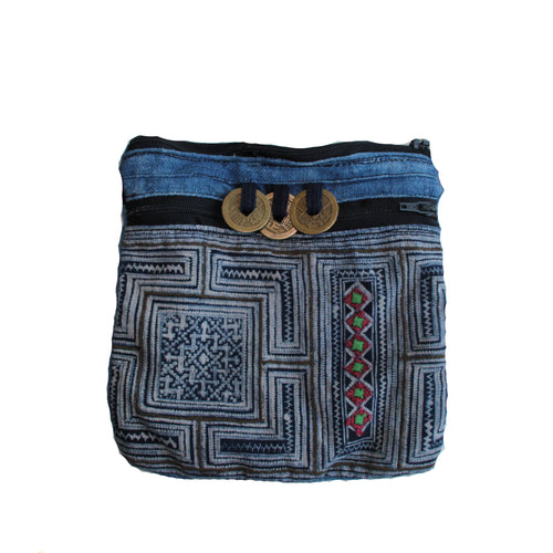 HMONG TRIBE COIN BAG - NOMADIC