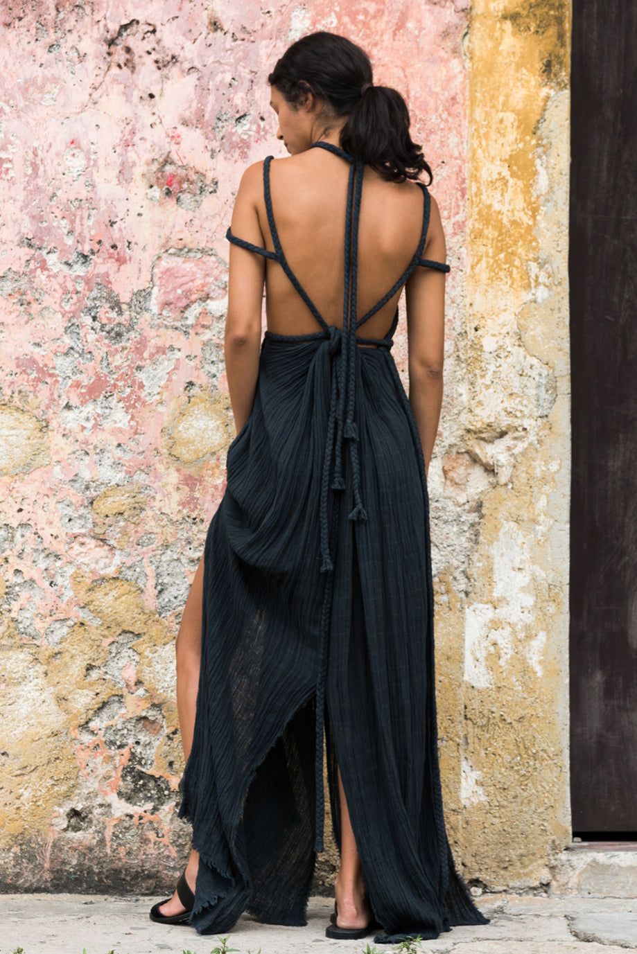 Kasia Kulenty beach dress gown tulum, image
