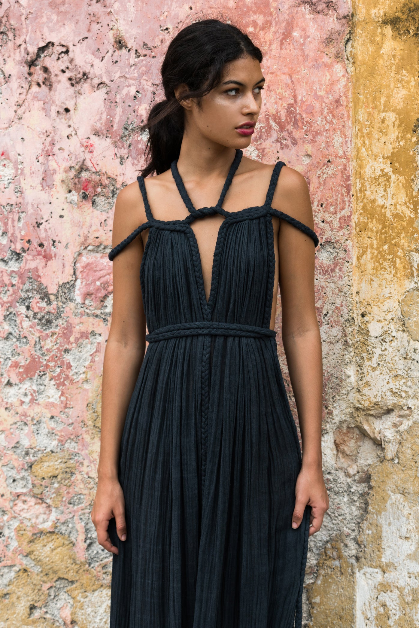 Kasia Kulenty long dress gown tulum, image