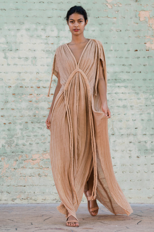 long dress rose kaftan image