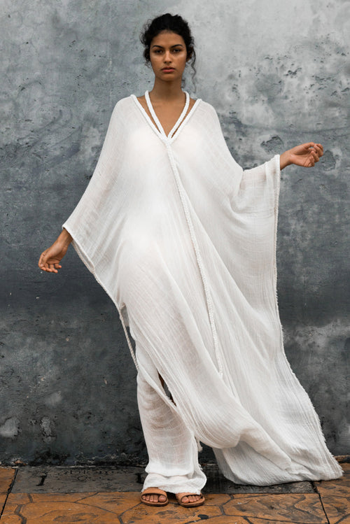 beach dress kaftan tulum long image cover up