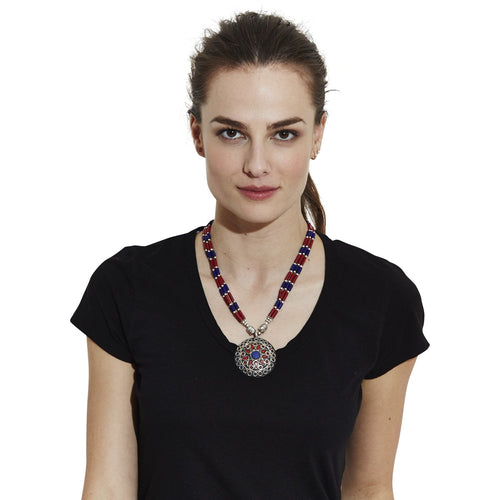 MANDALA NECKLACE - NOMADIC