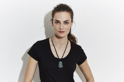 JADE FEMALE BUDA NECKLACE - NOMADIC